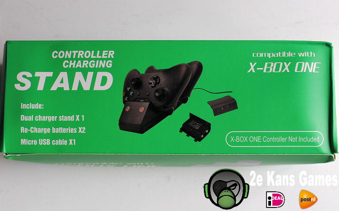 Oplaadstation Xbox One controllers
