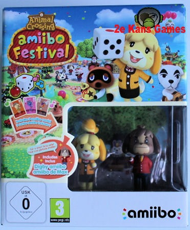 Animal Crossing Amiibo Festival incl. 2 Amiibo's