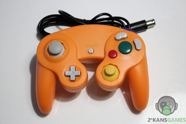 gamecube controller orange