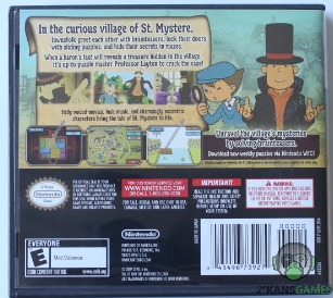 Professor Layton and the Curious Village back