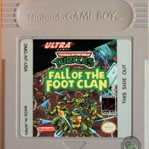 Teenage Mutant Ninja Turtles Fall of the Foot Clan