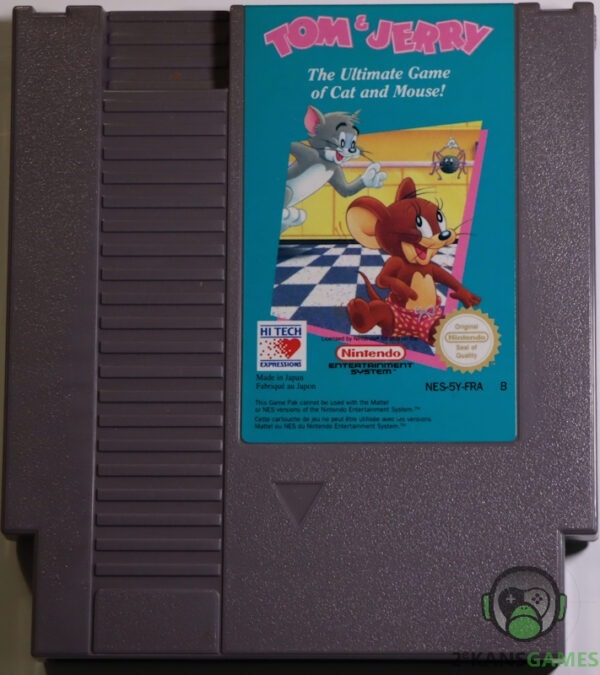 tom and jerry nes